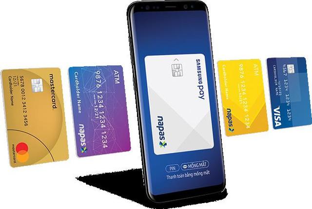 Với Samsung Pay, người dùng sẽ không cần phải mang theo thẻ tín dụng ra khỏi nhà