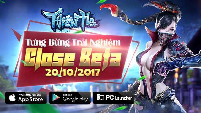 Thiên Hạ Gamota đã cho tải game, chính thức Closed Beta vào 10h ngày 20/10