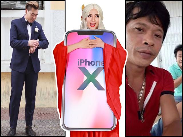 Lão đại và Đại gia so găng trong trận chiến iPhone X tại Tử Thanh Song Kiếm
