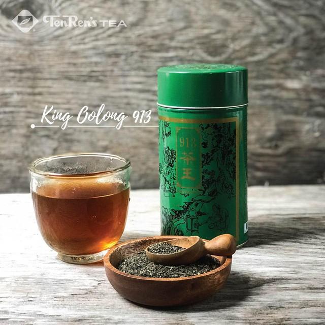 Trà King's Oolong 913 nhân sâm là vị trà tạo nên danh tiếng của thương hiệu Ten Ren