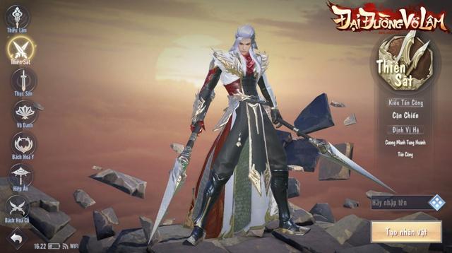 Đại Đường Võ Lâm cho game thủ trải nghiệm một giang hồ Võ Lâm hoàn toàn mới!