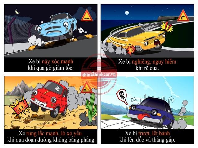 Lái xe an toàn và êm ái hơn với đệm giảm chấn Think Think Car Urethane - Ảnh 2.