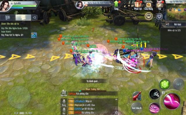 Đánh giá game Mobile Đại Đường Võ Lâm ngày đầu ra mắt