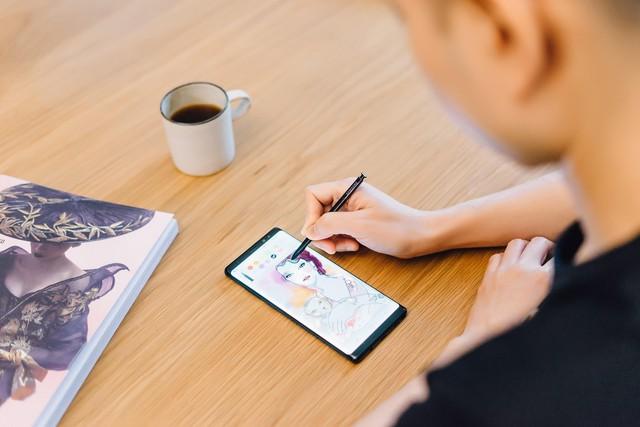 Galaxy Note8 là smartphone duy nhất vẫn gìn giữ được nghệ thuật vẽ tay - Ảnh 3.