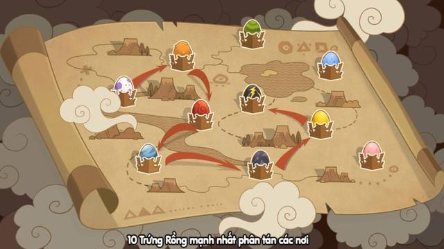 Cuộc chiến săn lùng trứng Rồng chính thức bùng nổ