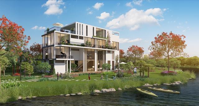 Lời giải cho bài toán nhà ở của giới thượng lưu Biệt thự Villa Park - Ảnh 1.