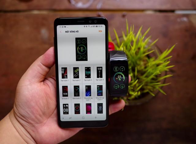 Vòng đeo thông minh Samsung Gear Fit2 Pro: Mạnh mẽ, bền bỉ và thời trang - Ảnh 17.