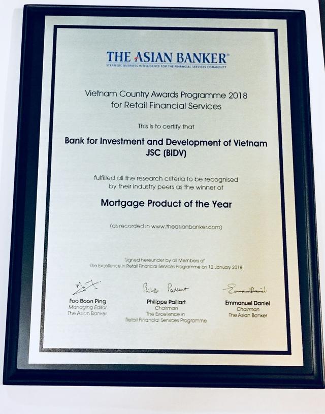 Liên tục là Ngân hàng bán lẻ tốt nhất, BIDV ghi dấu ấn Ngân hàng Việt trên trường quốc tế - Ảnh 1.