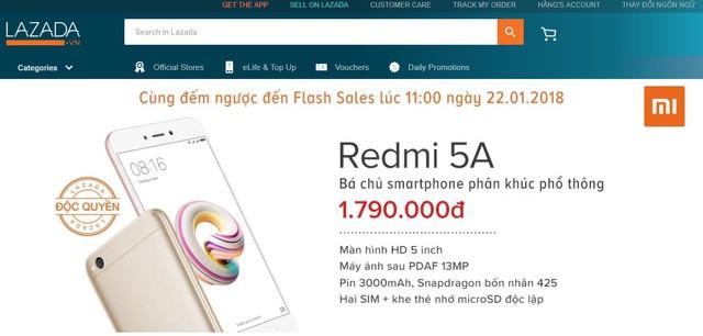 """""""Hết hồn"""" với Xiaomi Redmi 5A – smartphone giá rẻ - Ảnh 2."""