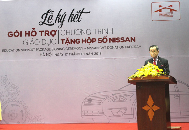 Nissan Việt Nam khởi động chương trình Hỗ trợ giáo dục cho cơ sở đào tạo chuyên ngành ô tô - Ảnh 1.