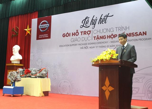 Nissan Việt Nam khởi động chương trình Hỗ trợ giáo dục cho cơ sở đào tạo chuyên ngành ô tô - Ảnh 2.