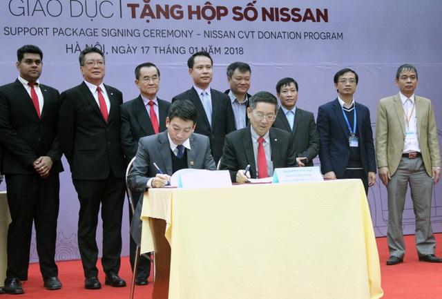 Nissan Việt Nam khởi động chương trình Hỗ trợ giáo dục cho cơ sở đào tạo chuyên ngành ô tô - Ảnh 3.
