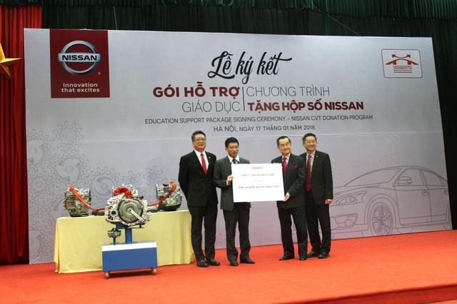 Nissan Việt Nam khởi động chương trình Hỗ trợ giáo dục cho cơ sở đào tạo chuyên ngành ô tô - Ảnh 4.