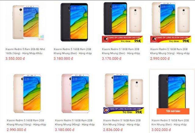 Duy nhất ngày 07/02 Xiaomi Redmi 5 Rẻ Vô Địch chỉ 2.599.000 trên Shopee - Ảnh 2.