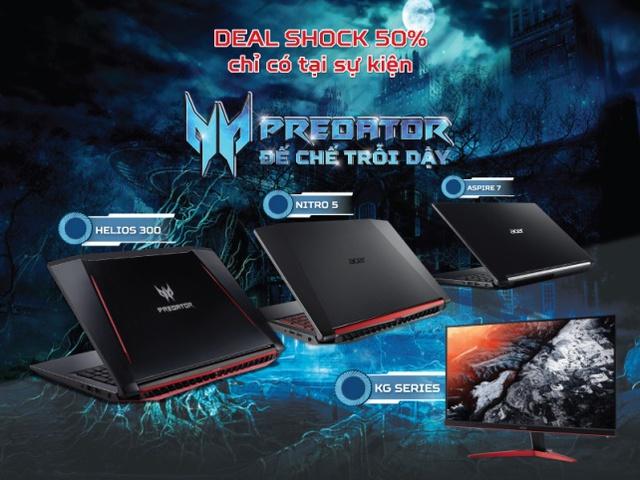 Với Predator - Đế Chế Trỗi Dậy, Acer một lần nữa muốn khẳng định hệ sinh  thái gaming của hãng là một trong những lựa chọn gaming tốt nhất tích hợp  những ...