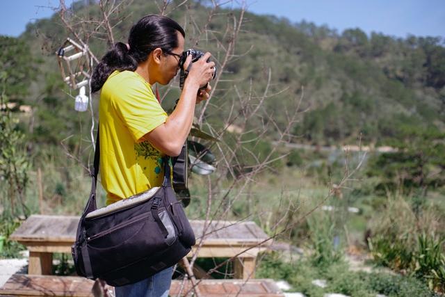 Đây chỉ là cái túi máy ảnh khá nhỏ so với nhiều loại túi khác