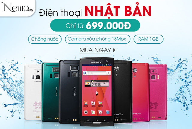 Nemo.vn tặng 5 Smartphone Nhật cho 5 khách hàng may mắn - Ảnh 1.