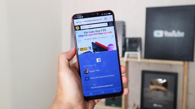 """""""Lộ diện"""" smartphone màn hình """"tai thỏ"""" 5,99 triệu của Vivo do Thế Giới Di Động độc quyền phân phối - Ảnh 4."""