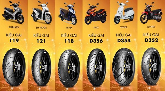 Chọn lốp chính hãng nào tốt nhất cho xe máy tại Việt Nam? - Ảnh 3.