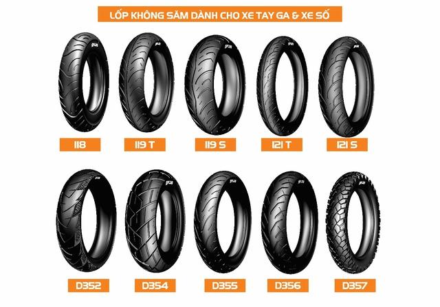 Chọn lốp chính hãng nào tốt nhất cho xe máy tại Việt Nam? - Ảnh 4.