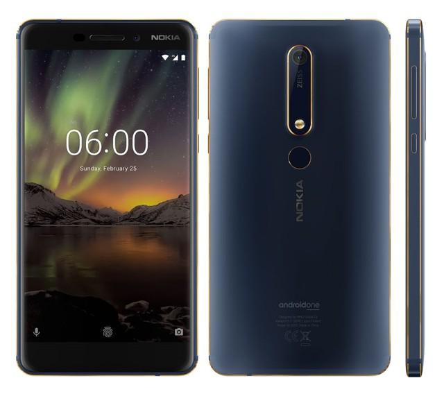 Nokia 6 mới phiên bản Blue Gold 64gb - chiếc điện thoại lý tưởng dành cho mọt game - Ảnh 1.