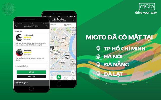 """Ứng dụng Mioto – Mô hình """"Airbnb"""" trong lĩnh vực thuê xe ô tô tại Việt Nam - ảnh 3"""