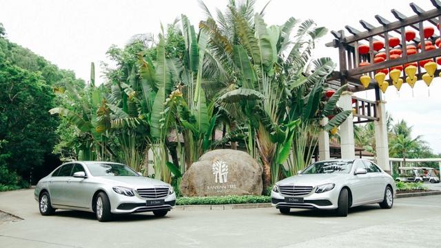 Mercedes-Benz bàn giao bộ đôi E 200 cho khu phức hợp nghỉ dưỡng quốc tế Laguna Lăng Cô - Ảnh 2.