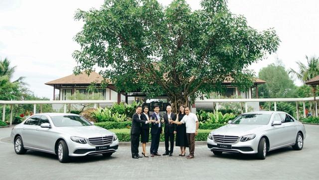 Mercedes-Benz bàn giao bộ đôi E 200 cho khu phức hợp nghỉ dưỡng quốc tế Laguna Lăng Cô - Ảnh 3.