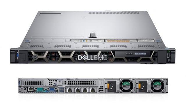 Dell PowerEdge R640 với kích thước 1U