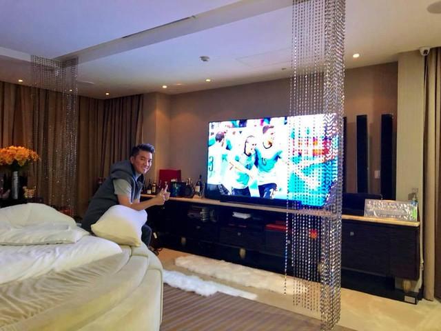 Đàm Vĩnh Hưng khoe TV hàng khủng để xem World Cup 2018 - Ảnh 4.
