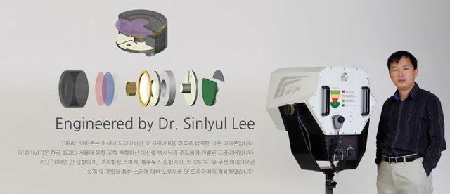 SF Driver là trình điều khiển âm thanh được phát triển bởi giáo sư Hàn Quốc Shin-Ryeol Lee