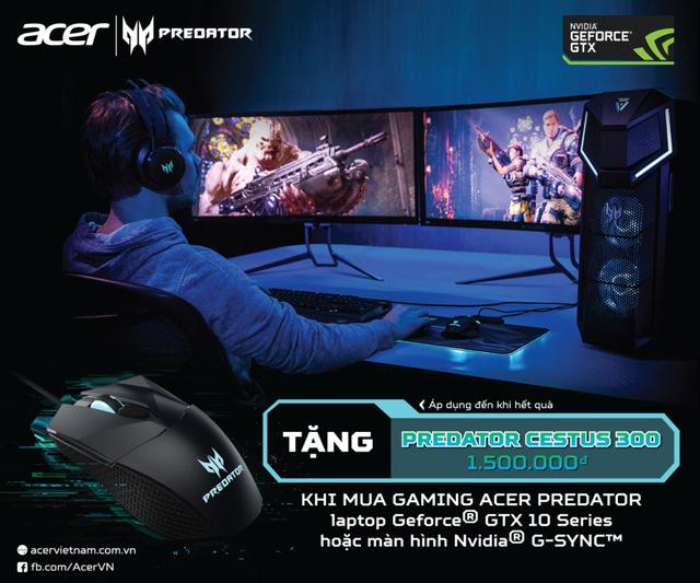 """""""Chiến game là phải ngầu"""" với dòng sản phẩm Predator từ Acer - Ảnh 3."""