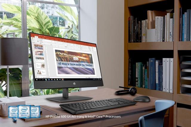 HP ProOne 600 G4 AiO: Lựa chọn sáng giá cho văn phòng startup - Ảnh 1.