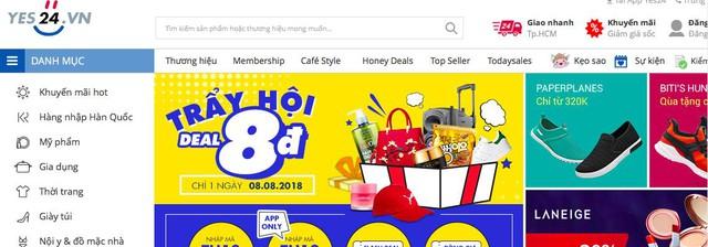 Gợi ý những website mua sắm online an toàn và uy tín tại Việt Nam năm 2018 - Ảnh 1.