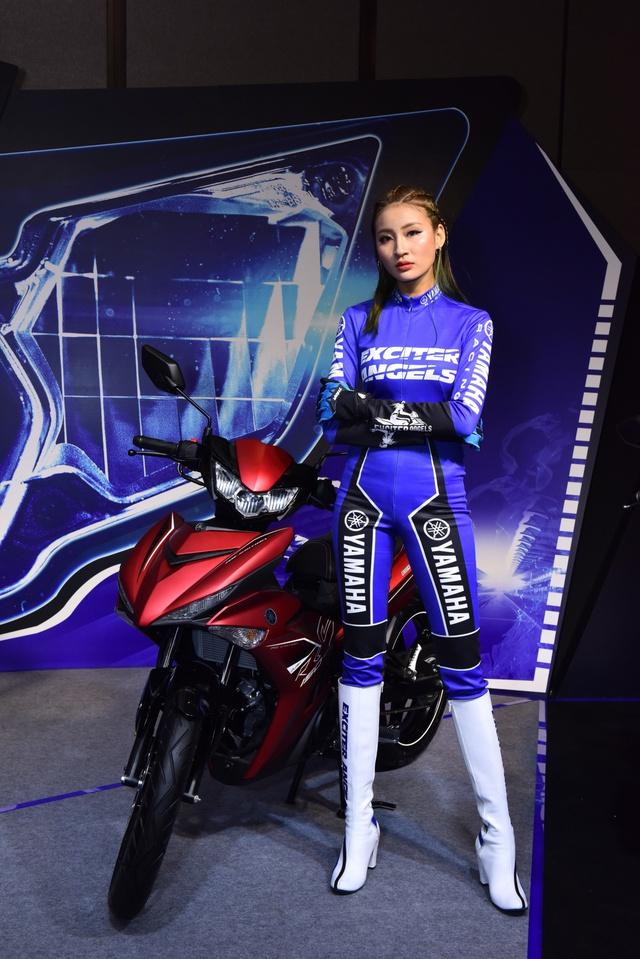 Chiêm ngưỡng vẻ đẹp của 5 thiên thần siêu cá tính trong biệt đội Yamaha Exciter Angels - Ảnh 2.