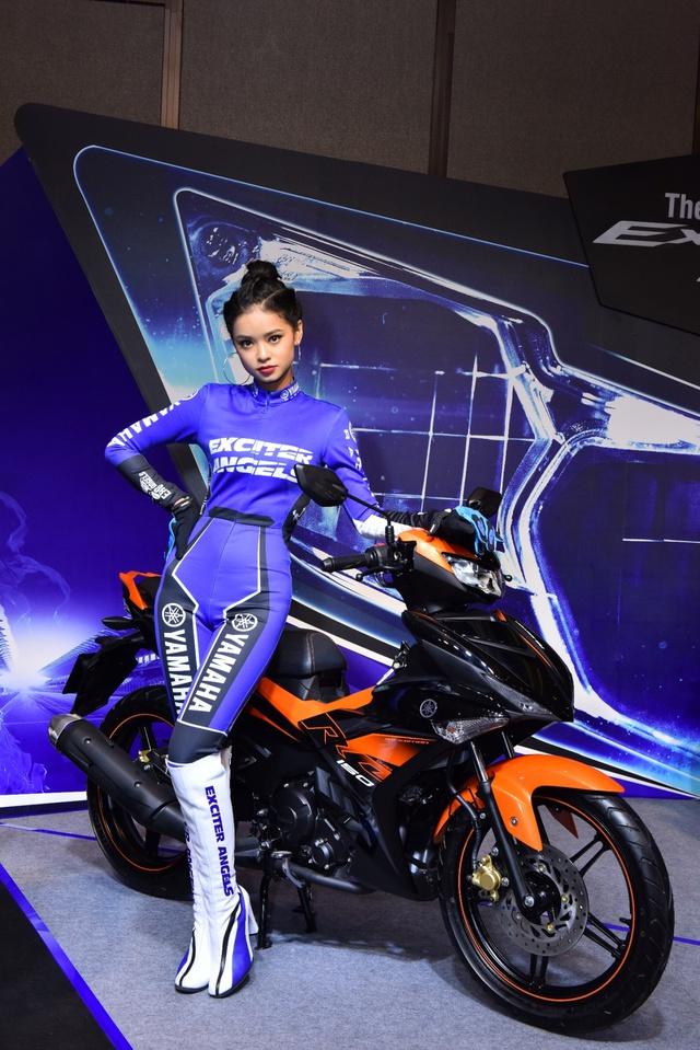 Chiêm ngưỡng vẻ đẹp của 5 thiên thần siêu cá tính trong biệt đội Yamaha Exciter Angels - Ảnh 4.