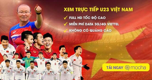 Người hâm mộ thể thao tải ứng dụng Mocha xem U23 VN - Ảnh 1.