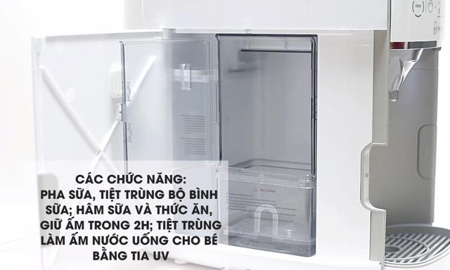 Chiếc máy pha sữa tiện lợi và thông minh hàng đầu - Ảnh 2.