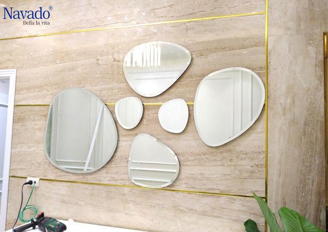 Các mẫu gương phòng tắm nghệ thuật độc đáo nhất hiện nay - Ảnh 5.