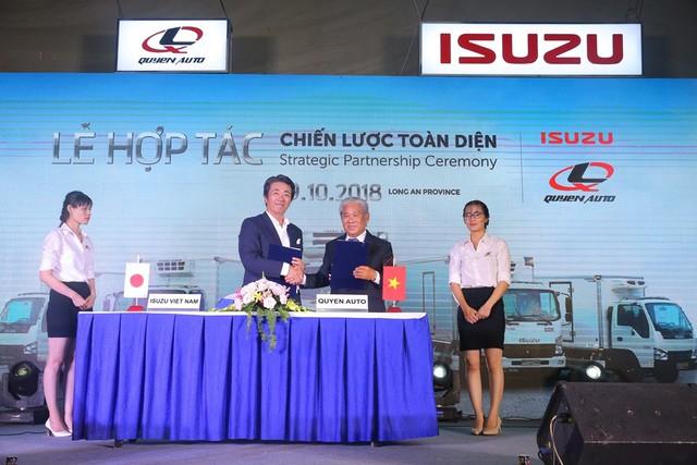 Isuzu Việt Nam hợp tác chiến lược toàn diện cùng Quyền Auto - Ảnh 2.