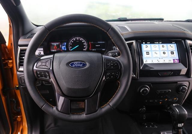 Khám phá những ưu, nhược điểm của Ford Ranger Wildtrak 2.0 bi-turbo 2018 - Ảnh 2.