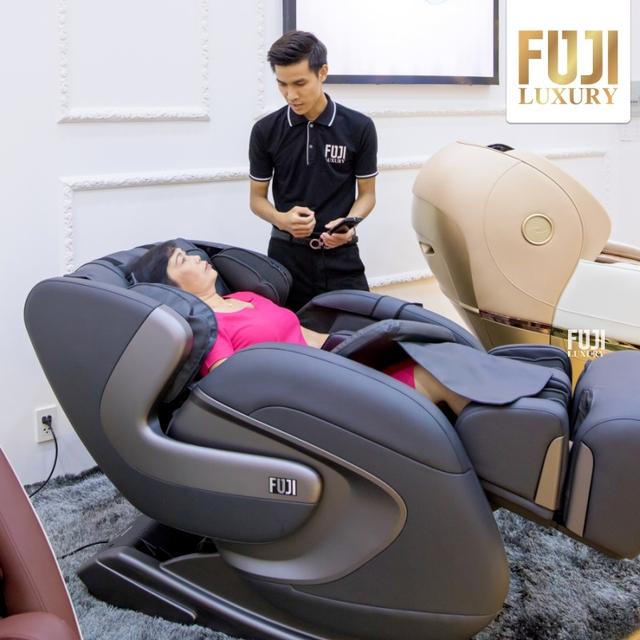 Tạm biệt bệnh xương khớp với Ghế Massage Fuji Luxury