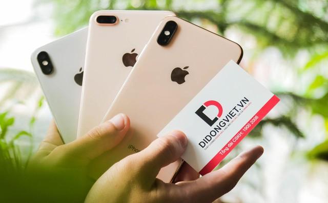 Di Động Việt bán iPhone 7 Plus, iPhone 8 Plus, iPhone X, iPhone Xs Max bảo hành 1 đổi 1, rơi vỡ - Ảnh 1.