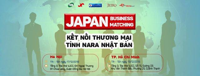 Cơ hội kết nối kinh doanh với các doanh nghiệp từ Nhật Bản chưa bao giờ thuận lợi đến vậy