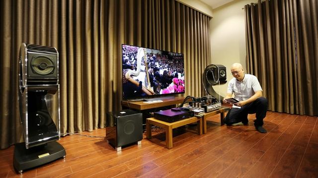 Độc đáo thú chơi thiết bị nghe nhìn của Audiophile Trương Vĩnh Khang - Ảnh 2.