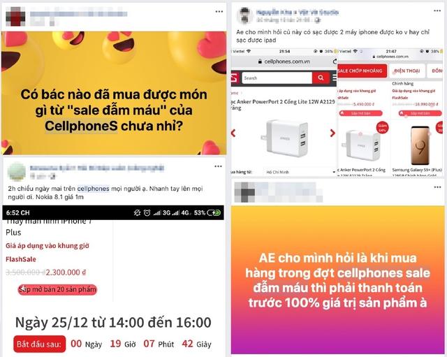 """CellphoneS với """"đại tiệc"""" Sale Đẫm Máu : Chiêu trò hay lòng tốt chưa được công nhận? - Ảnh 1."""