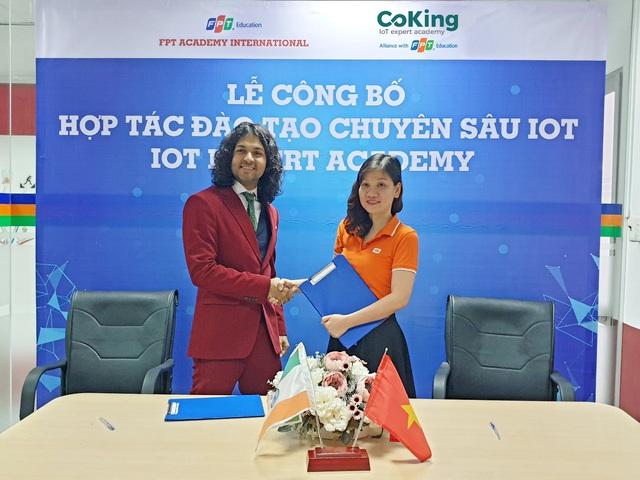 FPT Education ra mắt Học viện IoT tại Việt Nam - Ảnh 1.