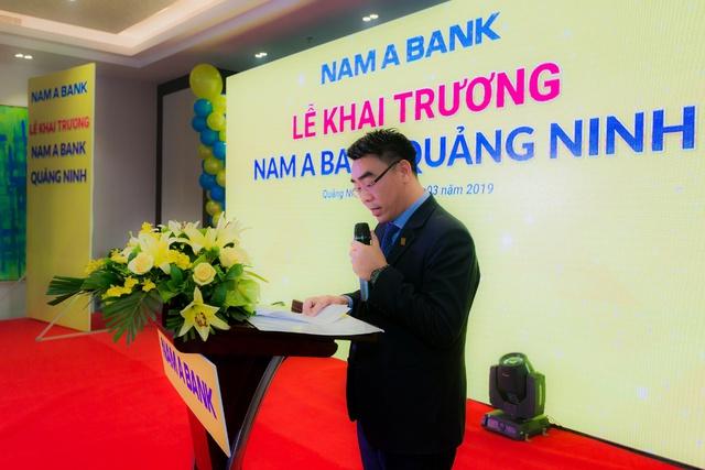 Nam A Bank khai trương chi nhánh đầu tiên tại tỉnh Quảng Ninh - Ảnh 1.
