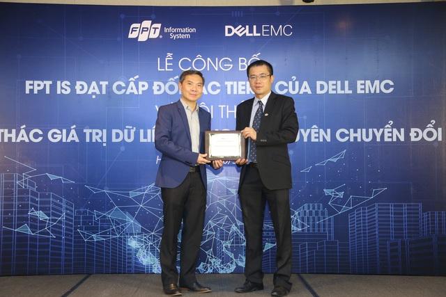 FPT IS trở thành đối tác cao cấp nhất của Dell EMC - Ảnh 1.