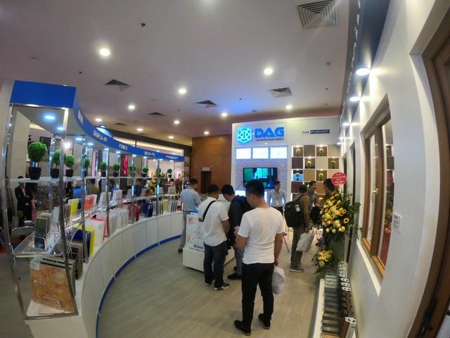Gian hàng DAG hút khách tại Vietbuild Hà Nội 2019 - Ảnh 2.